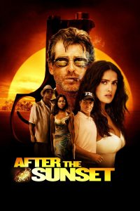 "Poster for the movie ""After the Sunset"""