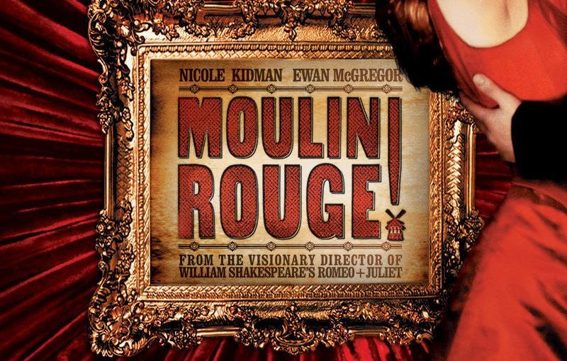 "Poster for the movie ""Moulin Rouge!"""