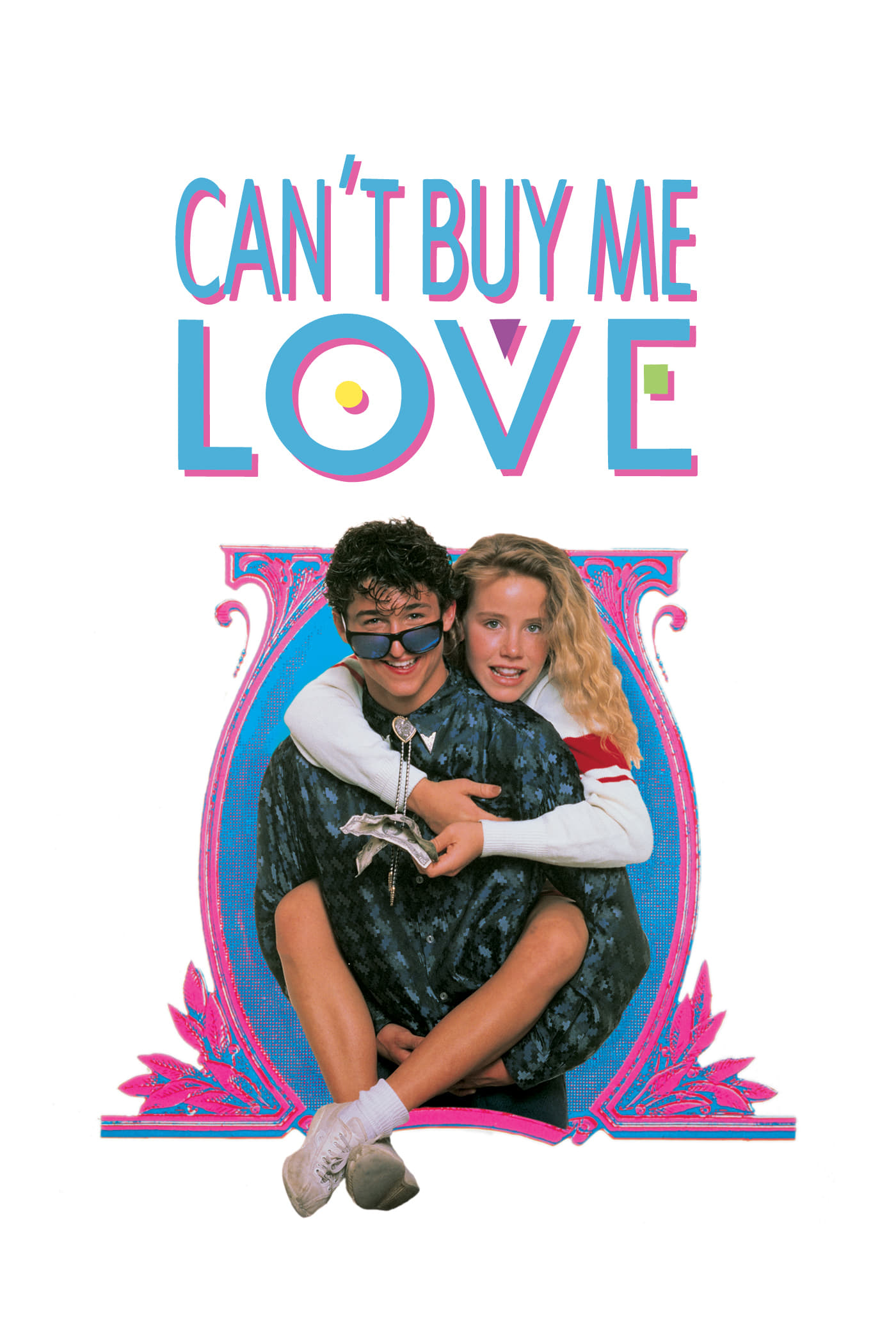"""Poster for the movie """"Can't Buy Me Love"""""""