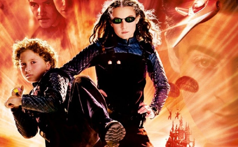 "Poster for the movie ""Spy Kids"""