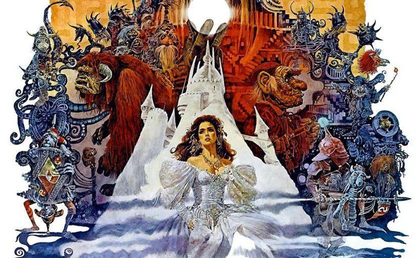 "Poster for the movie ""Labyrinth"""