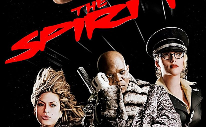 """Poster for the movie """"The Spirit"""""""