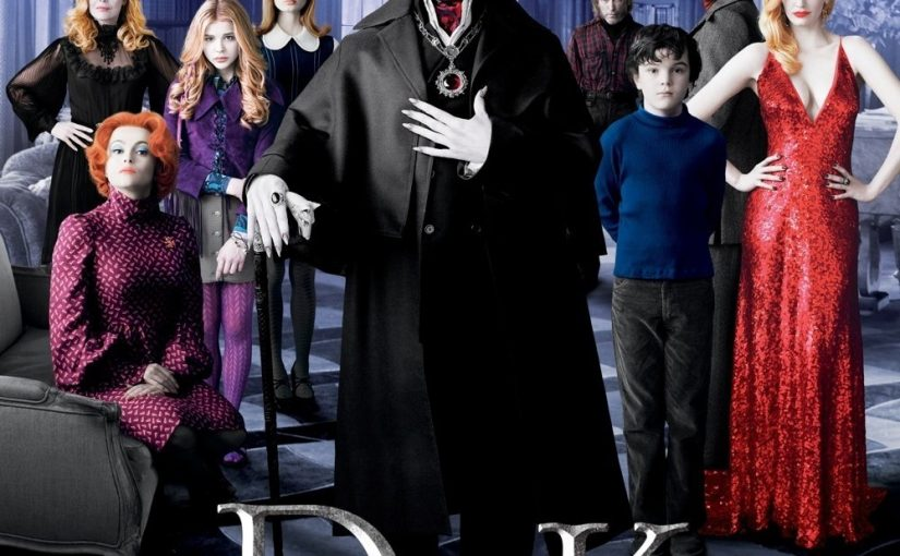 "Poster for the movie ""Dark Shadows"""