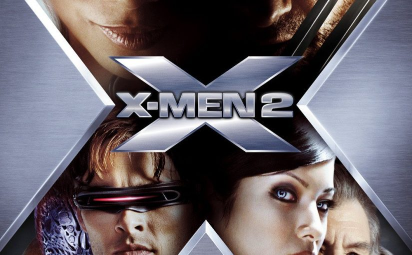 "Poster for the movie ""X2"""