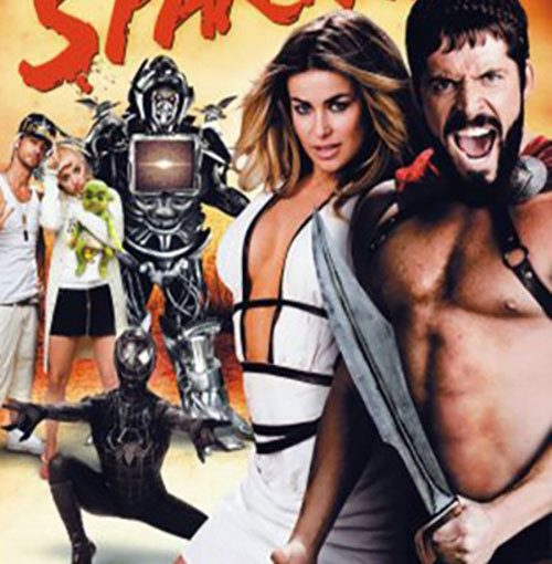 "Poster for the movie ""Meet the Spartans"""