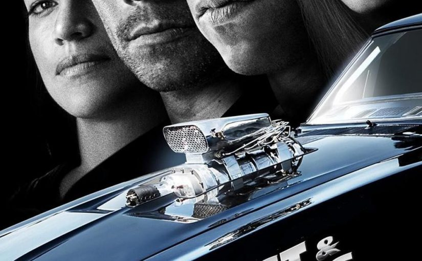 "Poster for the movie ""Fast & Furious"""