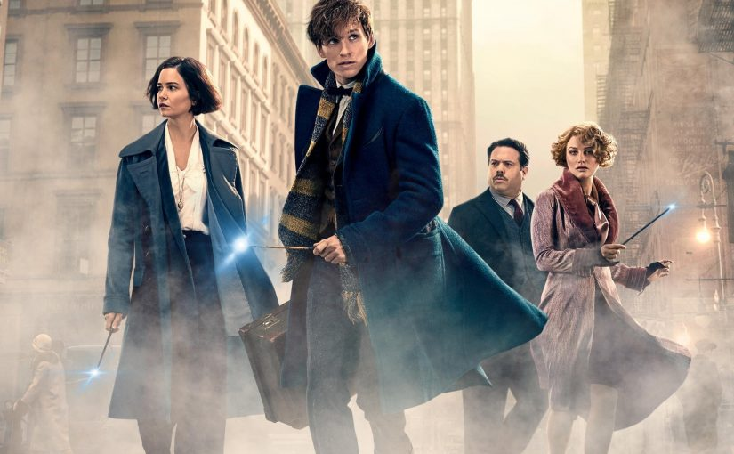 """Poster for the movie """"Fantastic Beasts and Where to Find Them"""""""