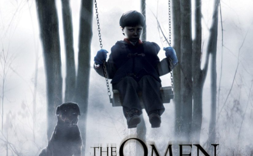 "Poster for the movie ""The Omen"""