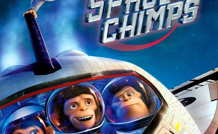 "Poster for the movie ""Space Chimps"""