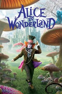 "Poster for the movie ""Alice in Wonderland"""