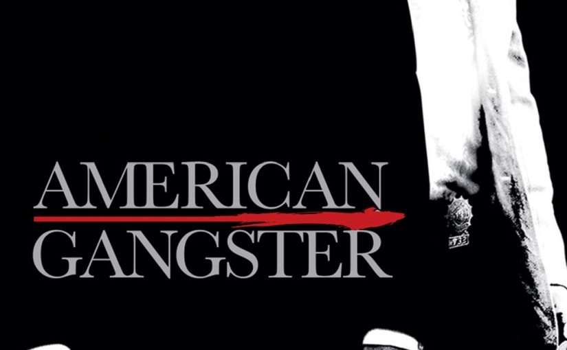"Poster for the movie ""American Gangster"""
