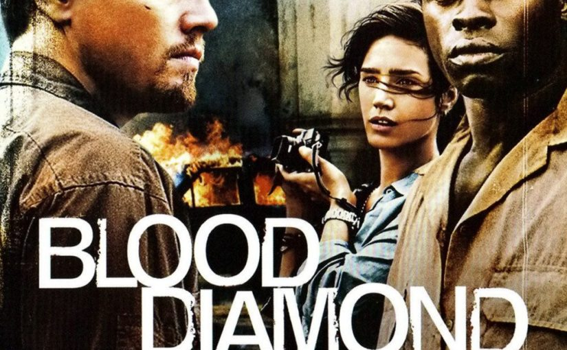 "Poster for the movie ""Blood Diamond"""